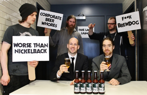 BrewDog Launch FAKE Lager