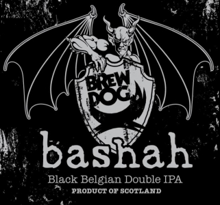 bashah - The Black Double Belgian IPA by Stone and BrewDog