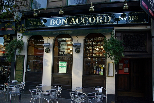 Bon Accord launch event for Alpha Dog on Monday