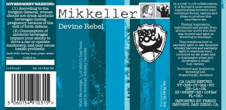 Devine Rebel, our Mikkeller Collaboration is ready to rock