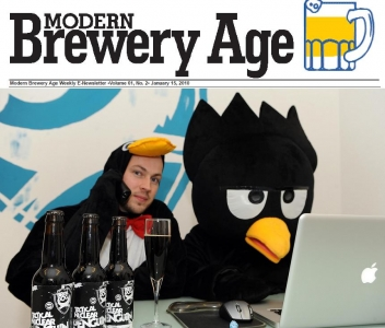 BrewDogs Penguin featured in Modern Brewery Age