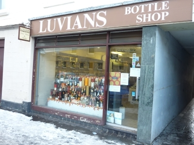 Luvians, St Andrews. Tasting with Jonny!