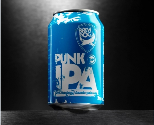 Punk IPA in a can!