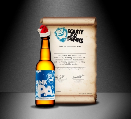 The Ultimate Christmas Gift - Shares in BrewDog