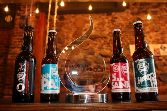 BrewDog scoop prestigious business award