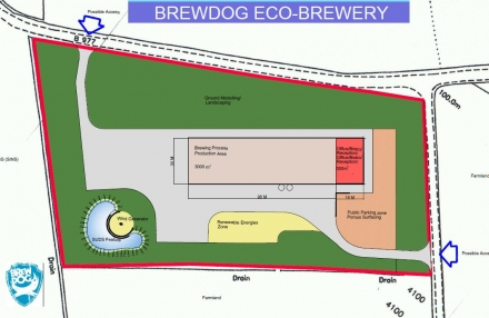 First plans of our proposed phase 2 brewery