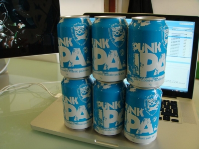 Punk IPA in Cans