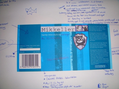 Mikkeller collaboration: Label Workshop