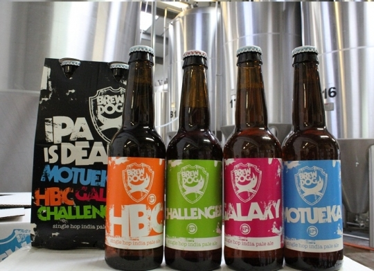 IPA is Dead Lives: BrewDog's World Hop Tour