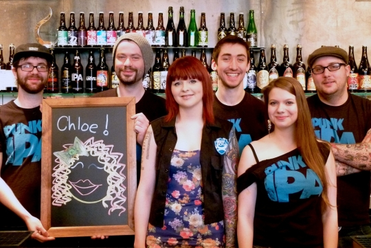 Meet the BrewDog Aberdeen Bar Team