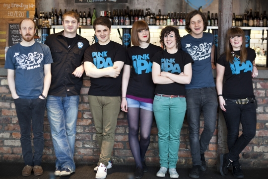 Meet the BrewDog Glasgow Team