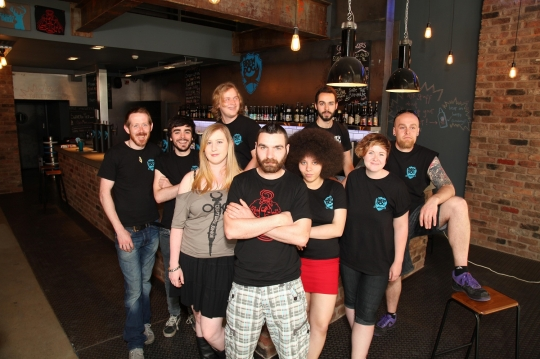 Meet the BrewDog Manchester Team