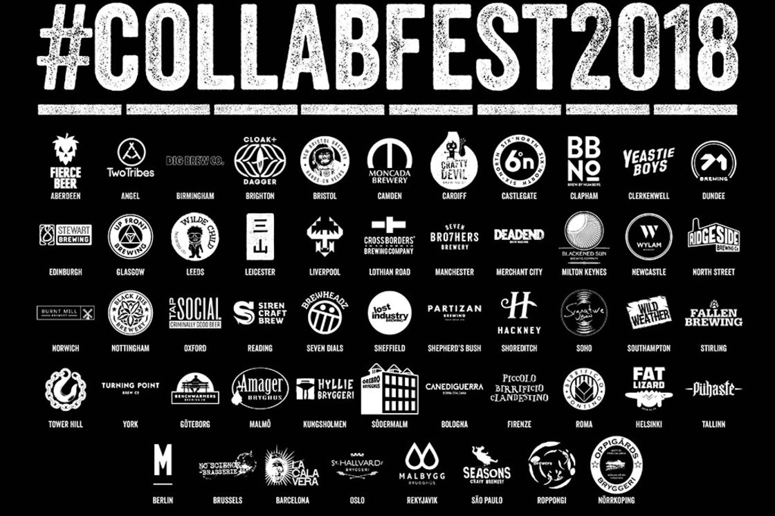 #COLLABFEST2018: BrewDog teams up with 52 craft breweries for the ultimate four-day craft beer festival