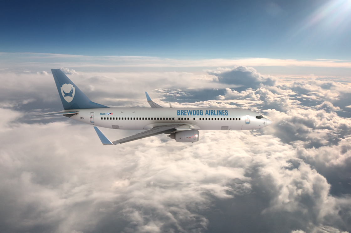 Ale Miles: BrewDog launches 'BrewDog Airlines', the world's first craft beer airline