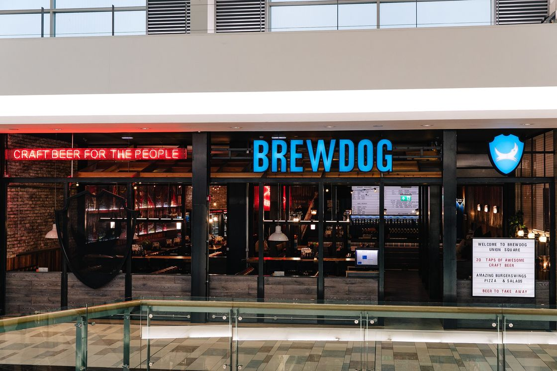 Shop till you hop: Local brewer, BrewDog opens bar in Union Square, and offers beer fans the chance to win year's supply of craft beer