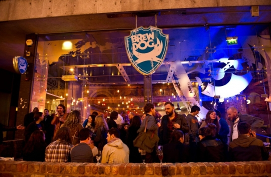 BrewDog Manchester is now open!