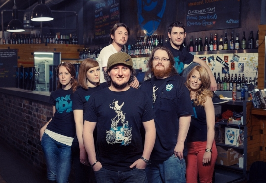 Meet the BrewDog Edinburgh Team