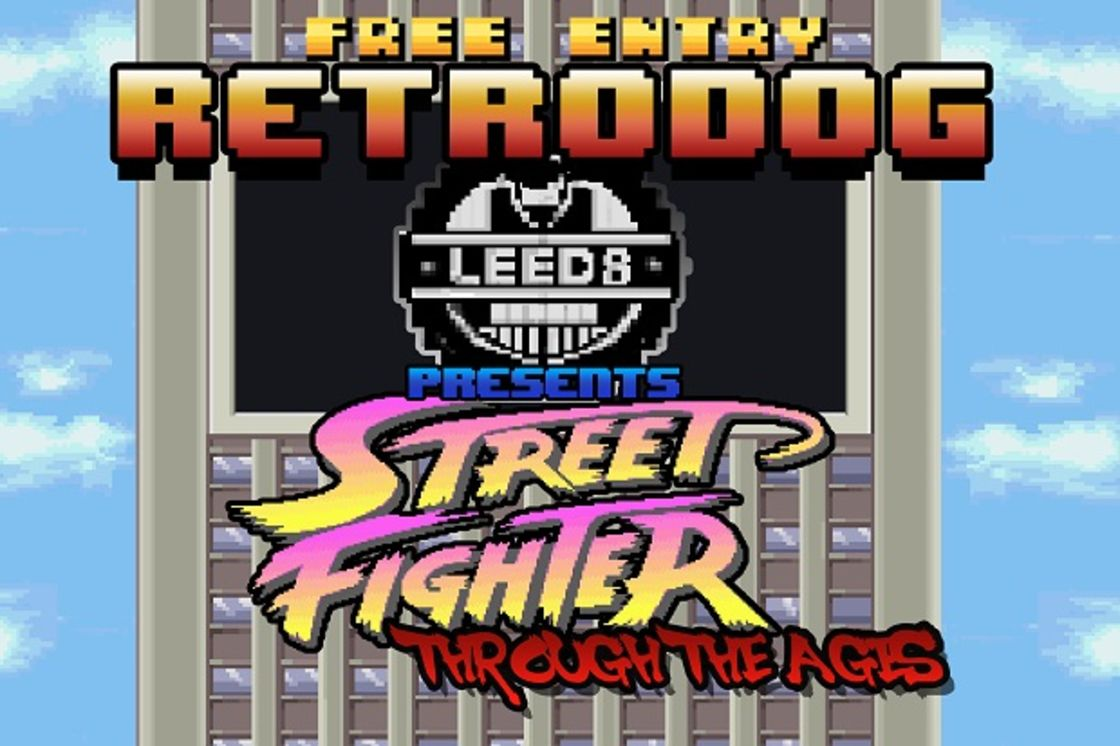 Retro Dog Presents: Street Fighter through the ages