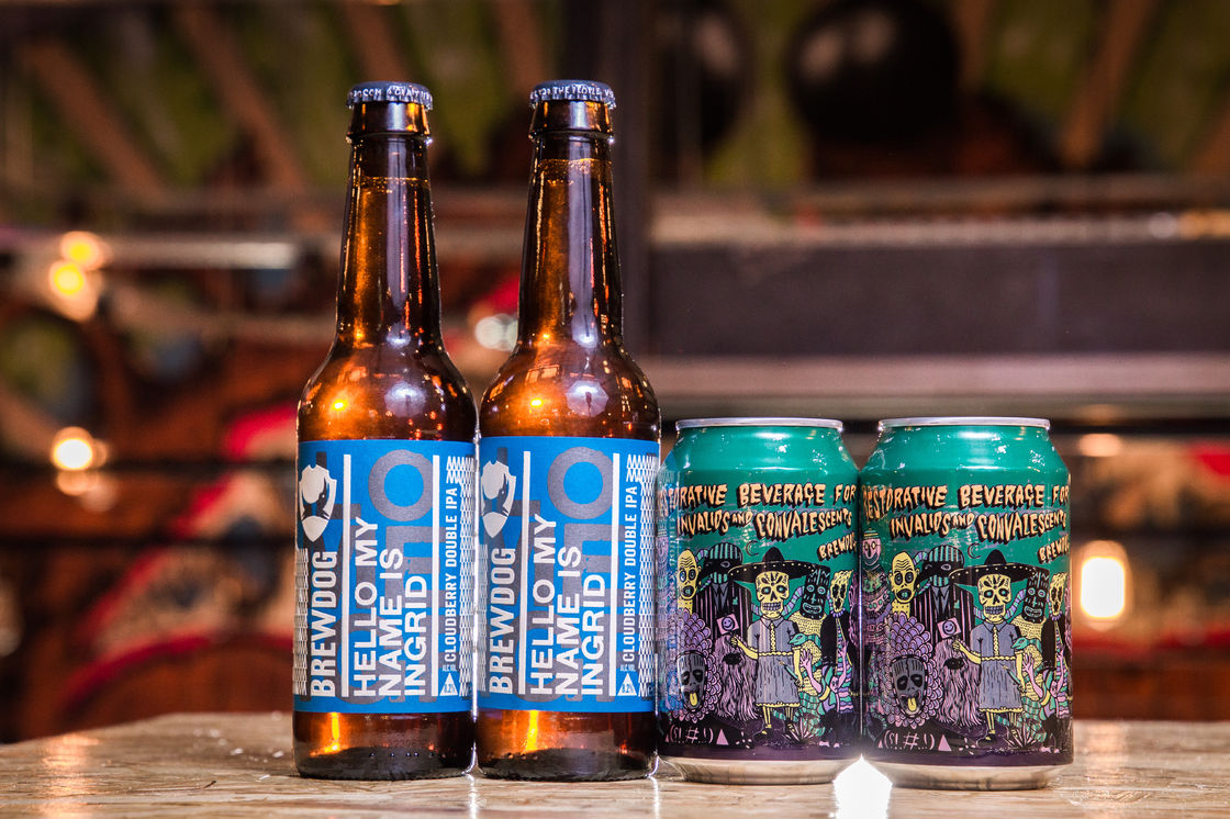 RESTORATIVE BEVERAGE AND #REBREWDOG…