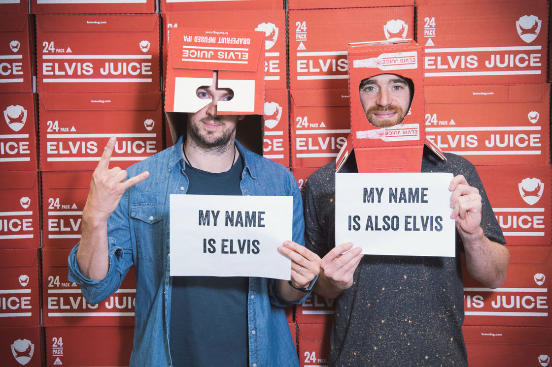 Hello, My Name is Elvis