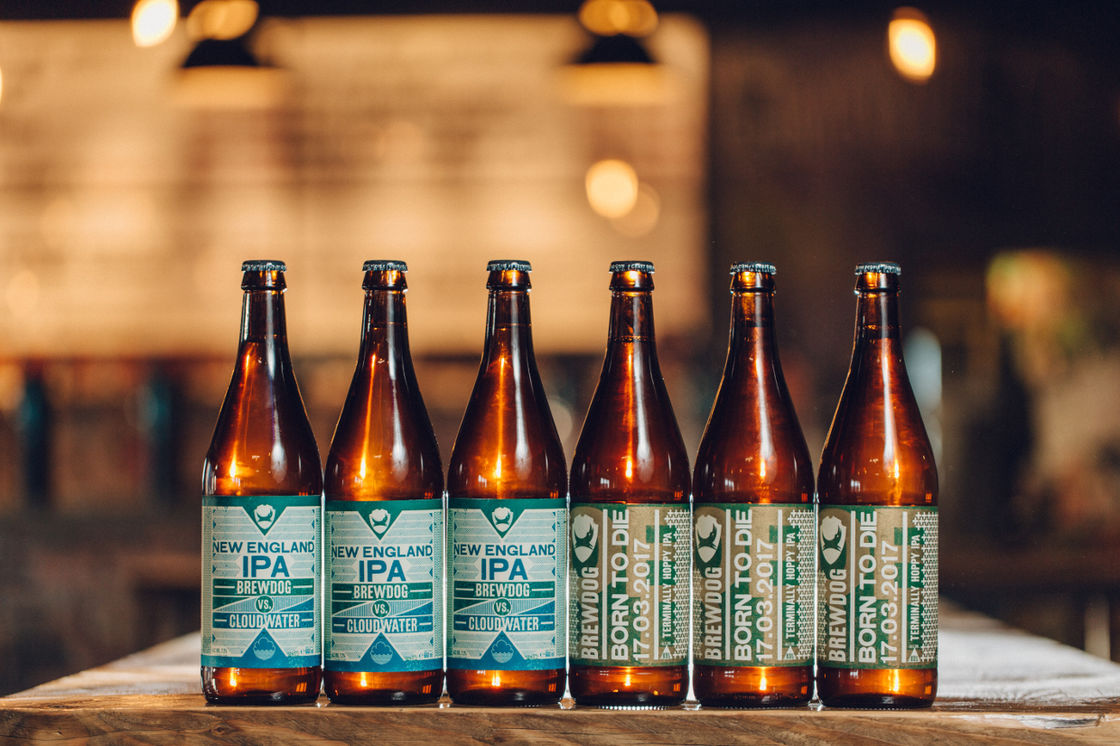 BREWDOG VS CLOUDWATER VS BORN TO DIE
