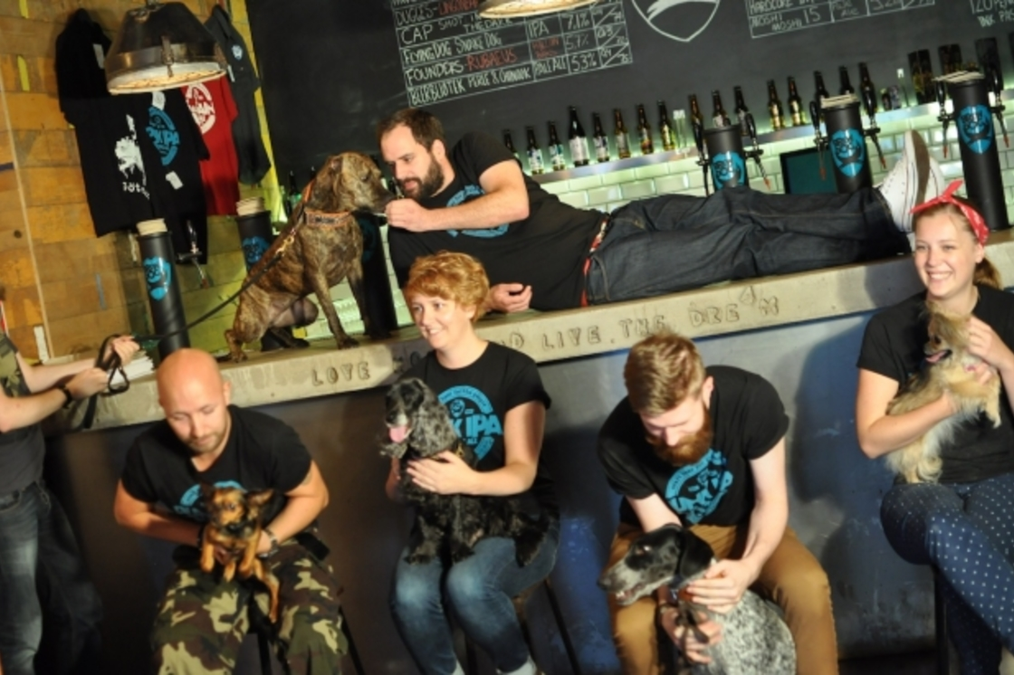 Say hi to team BrewDog Gothenburg!