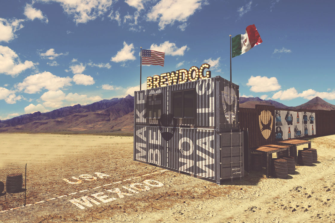 BrewDog to Build a Craft Beer Bar on US-Mexico Border