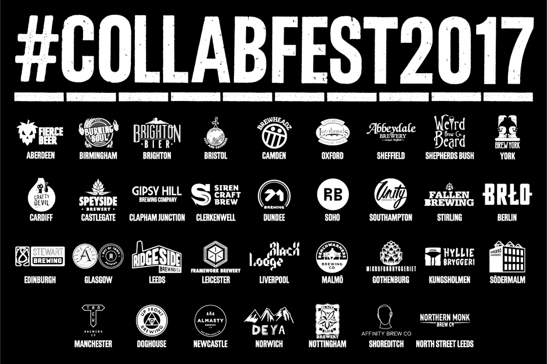 #COLLABFEST2017 – THE BREWERIES