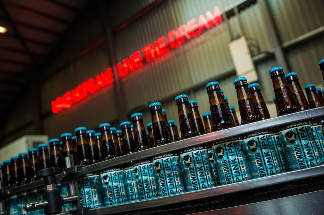 Life in the Fast Track: BrewDog becomes the only business to be named as one of Britain's fastest-growing companies for a record sixth consecutive year.