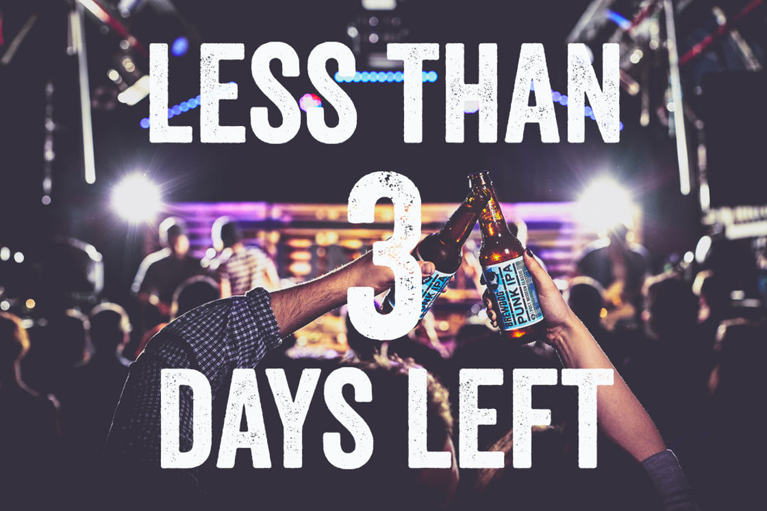 THREE DAYS REMAIN TO INVEST IN EQUITY FOR PUNKS V