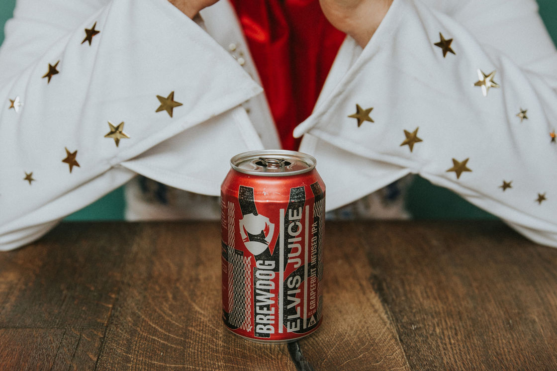 Elvis never left the building: BrewDog celebrates trademark victory with a round for….Elvis