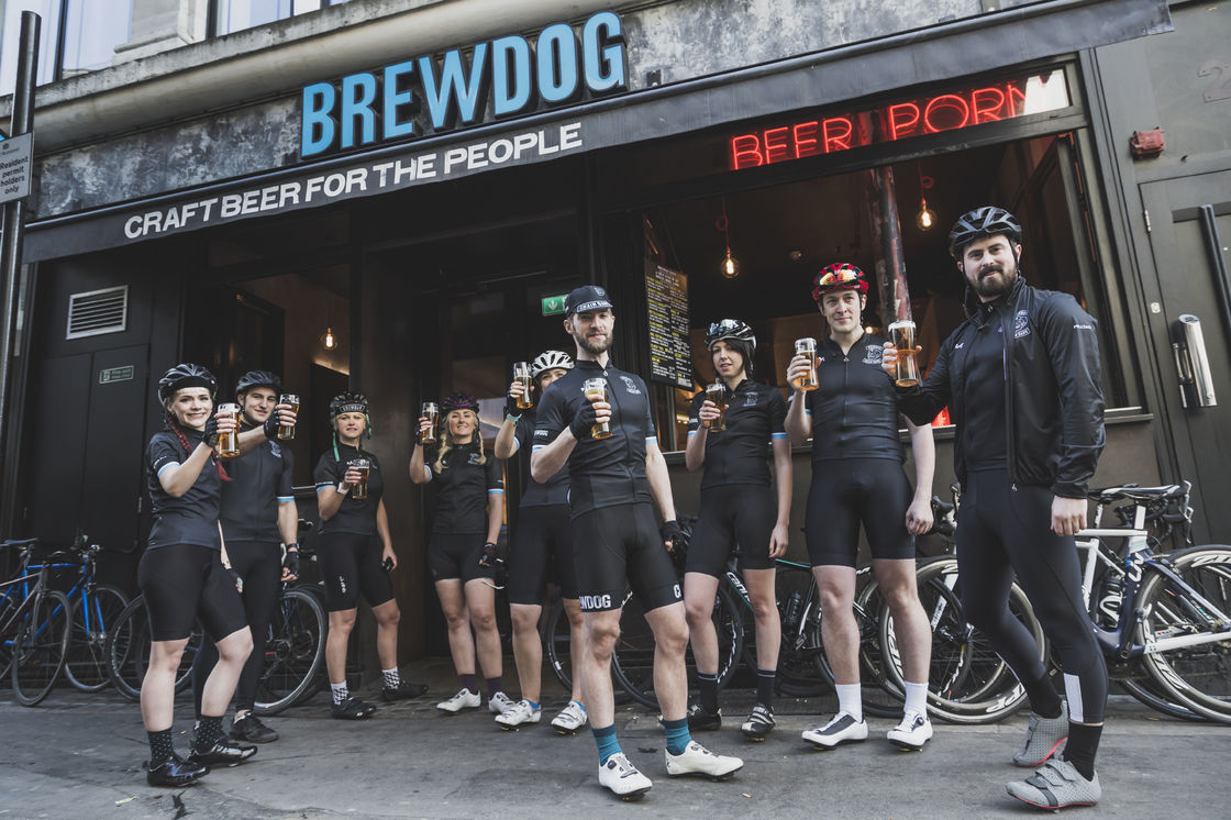 "Hop on the saddle: BrewDog combines bikes and beer with the launch of ""Chain Gang"" cycling club"