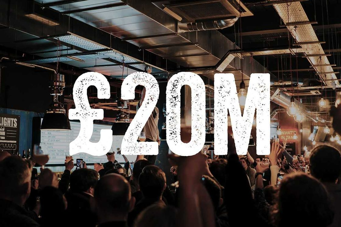 EQUITY FOR PUNKS V HITS £20M
