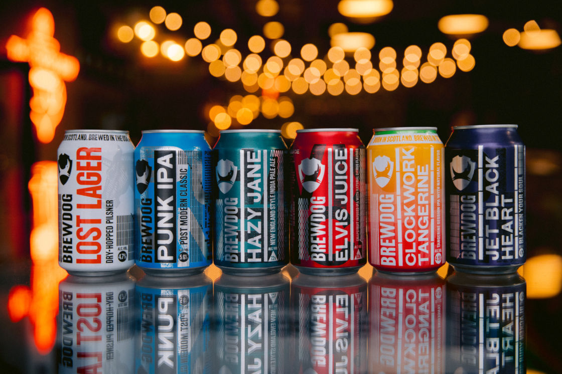 BREWDOG USA 2019 RANGE PLAN