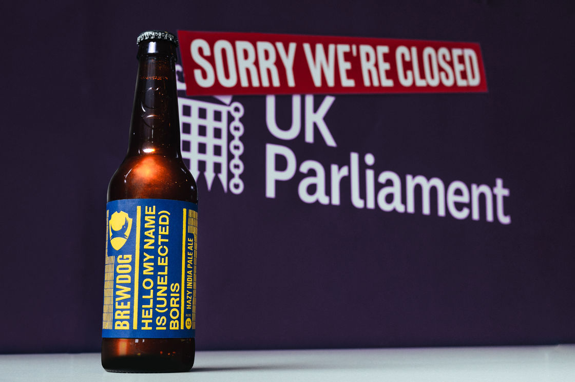 WHEN POLITICS IS TOO CRAZY FOR BREWDOG PROTEST BEERS