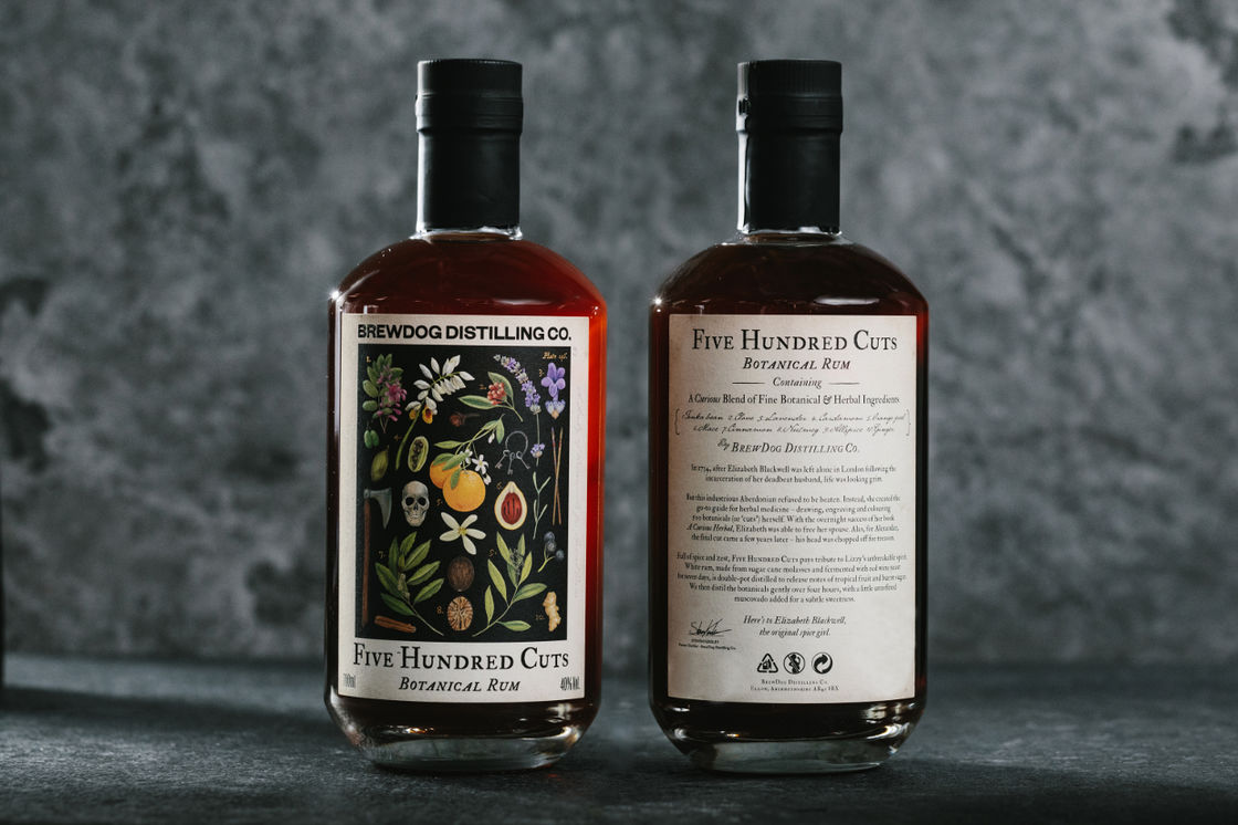 INTRODUCING FIVE HUNDRED CUTS RUM