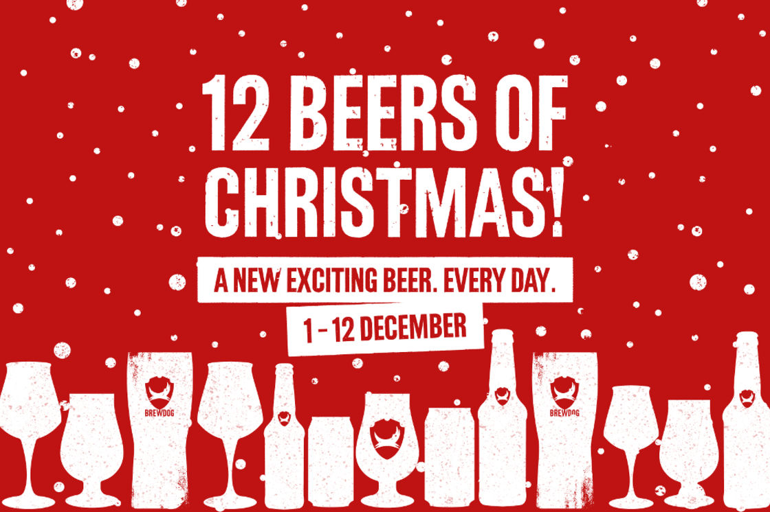 BREWDOG'S TWELVE BEERS OF CHRISTMAS 2019
