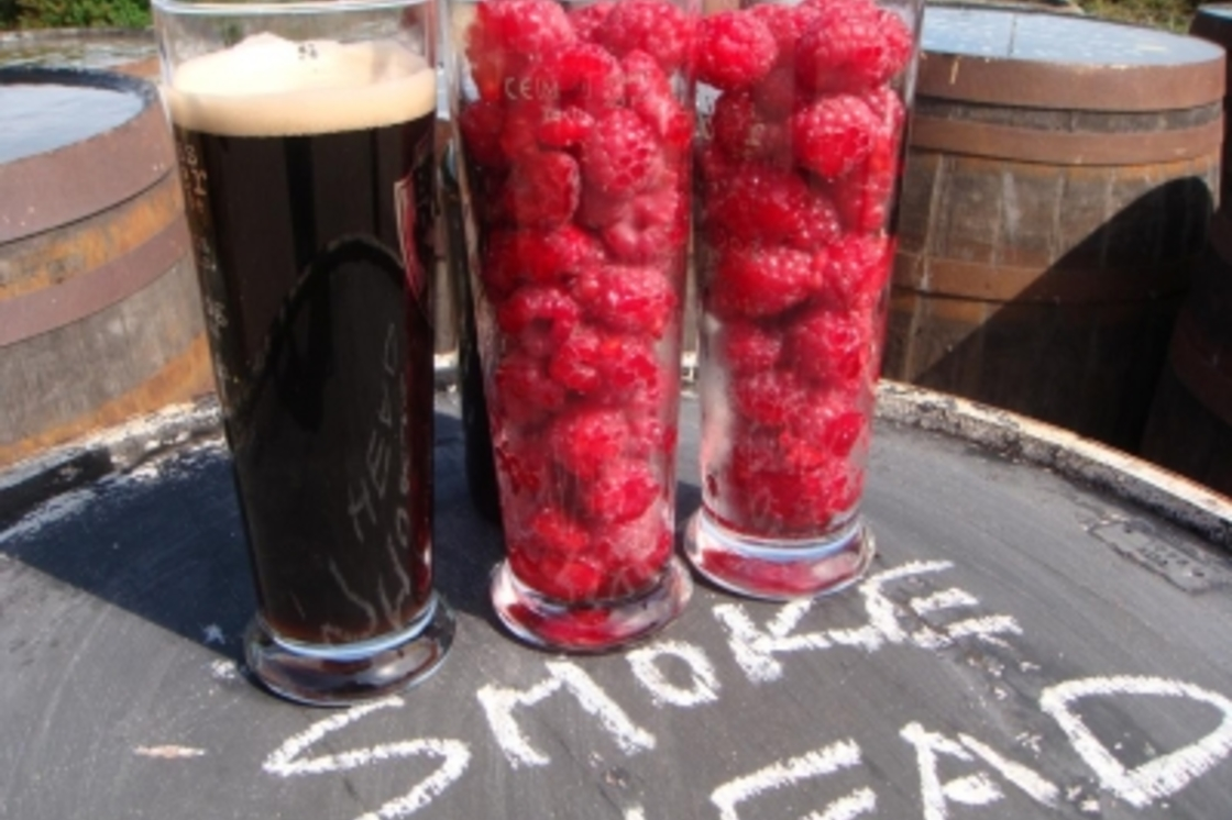 Raspberries, Imperial Stouts, Islay Whisky and Abstrakt AB:01