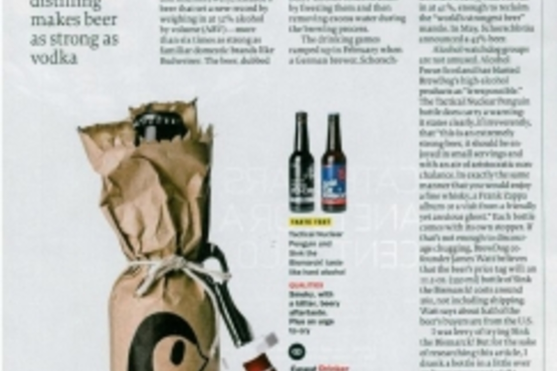 Time Magazine feature our Tactical Nuclear Penguin