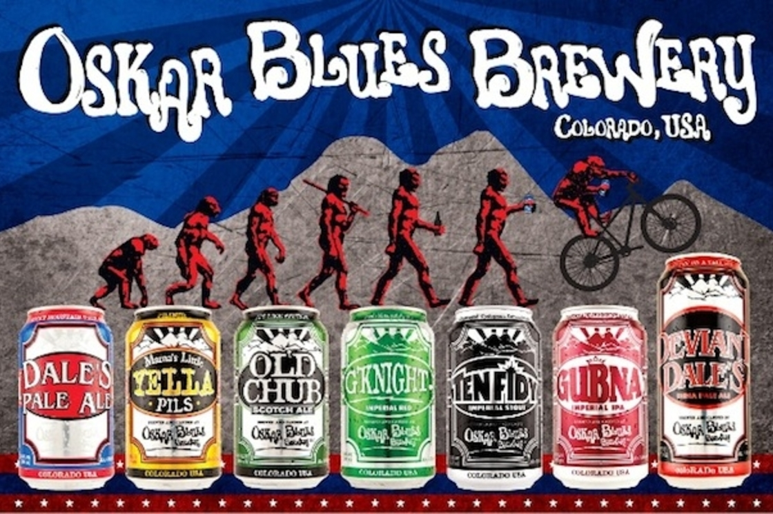 Oskar Blues meets BrewDog!