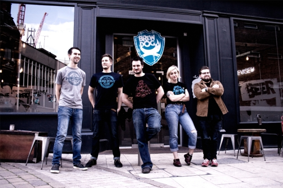 Say Hi to Team BrewDog Birmingham
