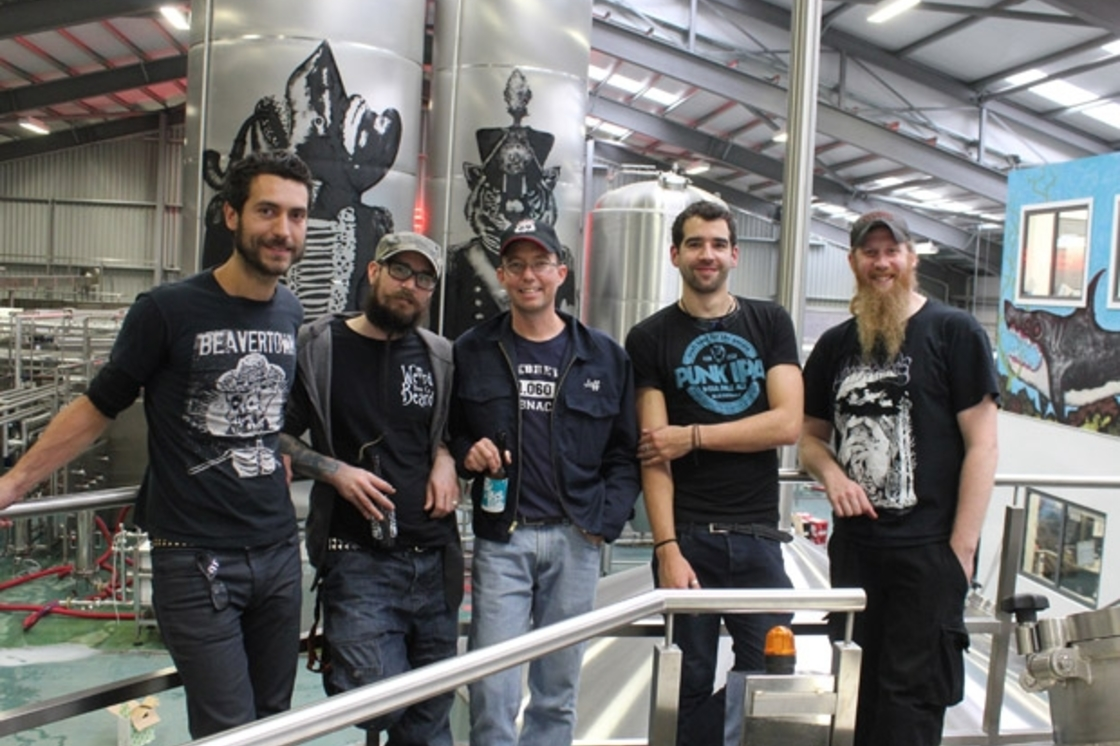 Collab Fest Brewday at BrewDog HQ