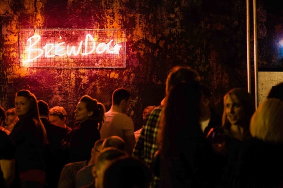 Student discount in UK BrewDog bars