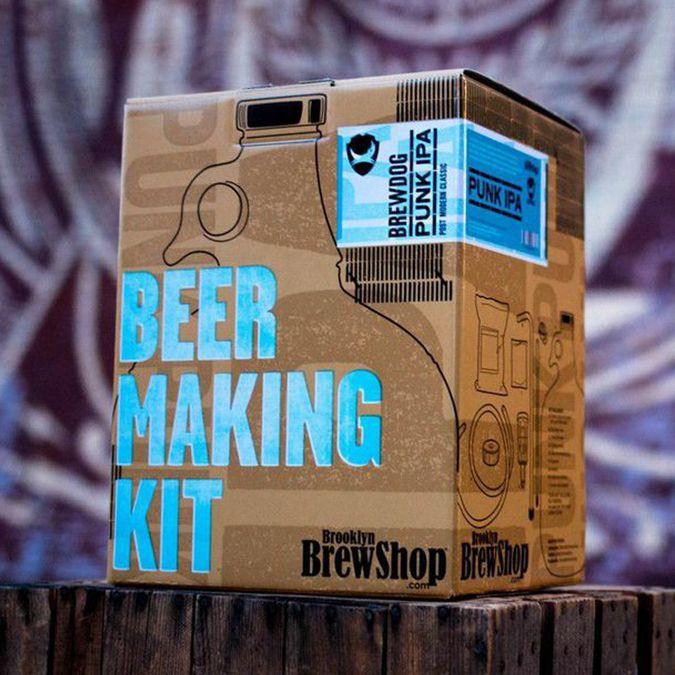 Brooklyn BrewShop Punk IPA homebrew kits