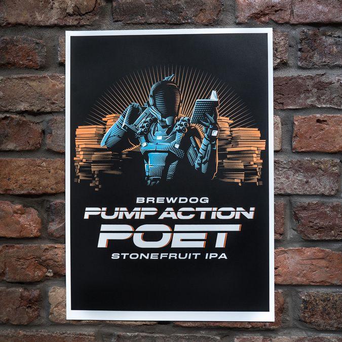 Pump Action Poet Limited Edition Art Print