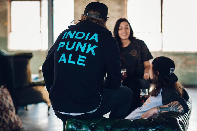 India Punk Ale Hoody