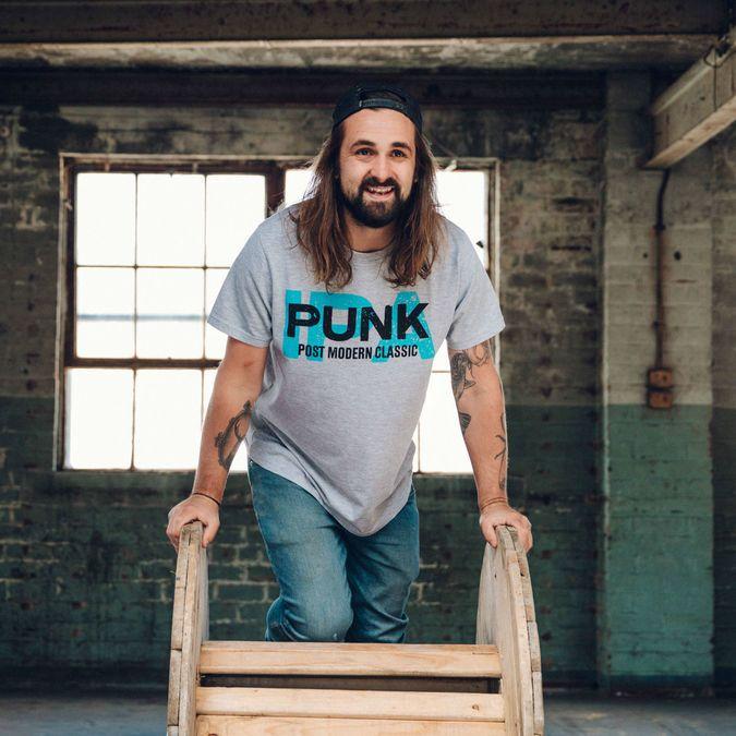 Grey Punk IPA Graphic T-Shirt