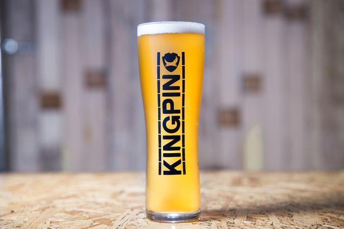 Kingpin Pint Glass