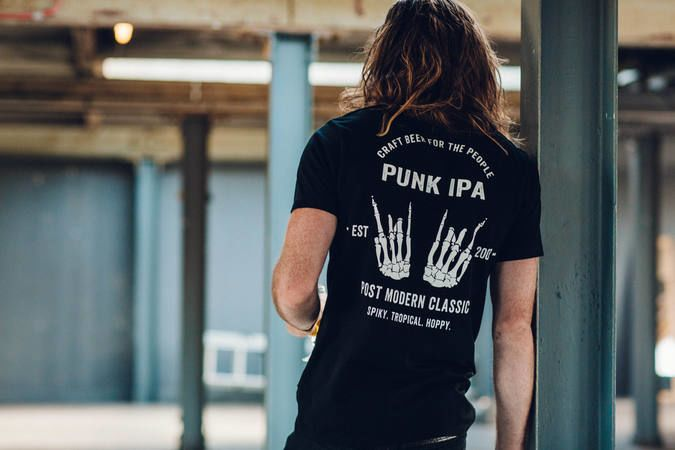 Punk IPA Skeleton Tee