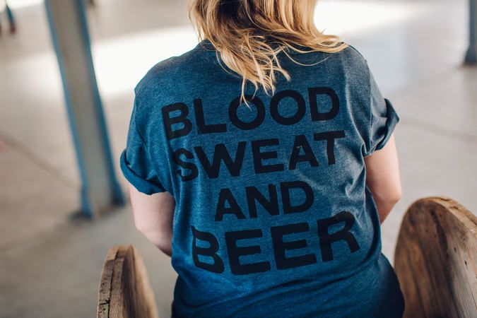 Blood Sweat and Beer Tee